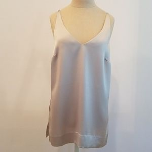 AYR slip cami tank top with side slits